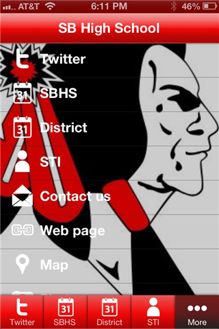 South Beloit High School- screenshot