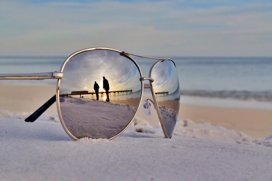 Take me to Paradise by Jessica Brown - Novices Only Landscapes ( sunset, couple, beach )
