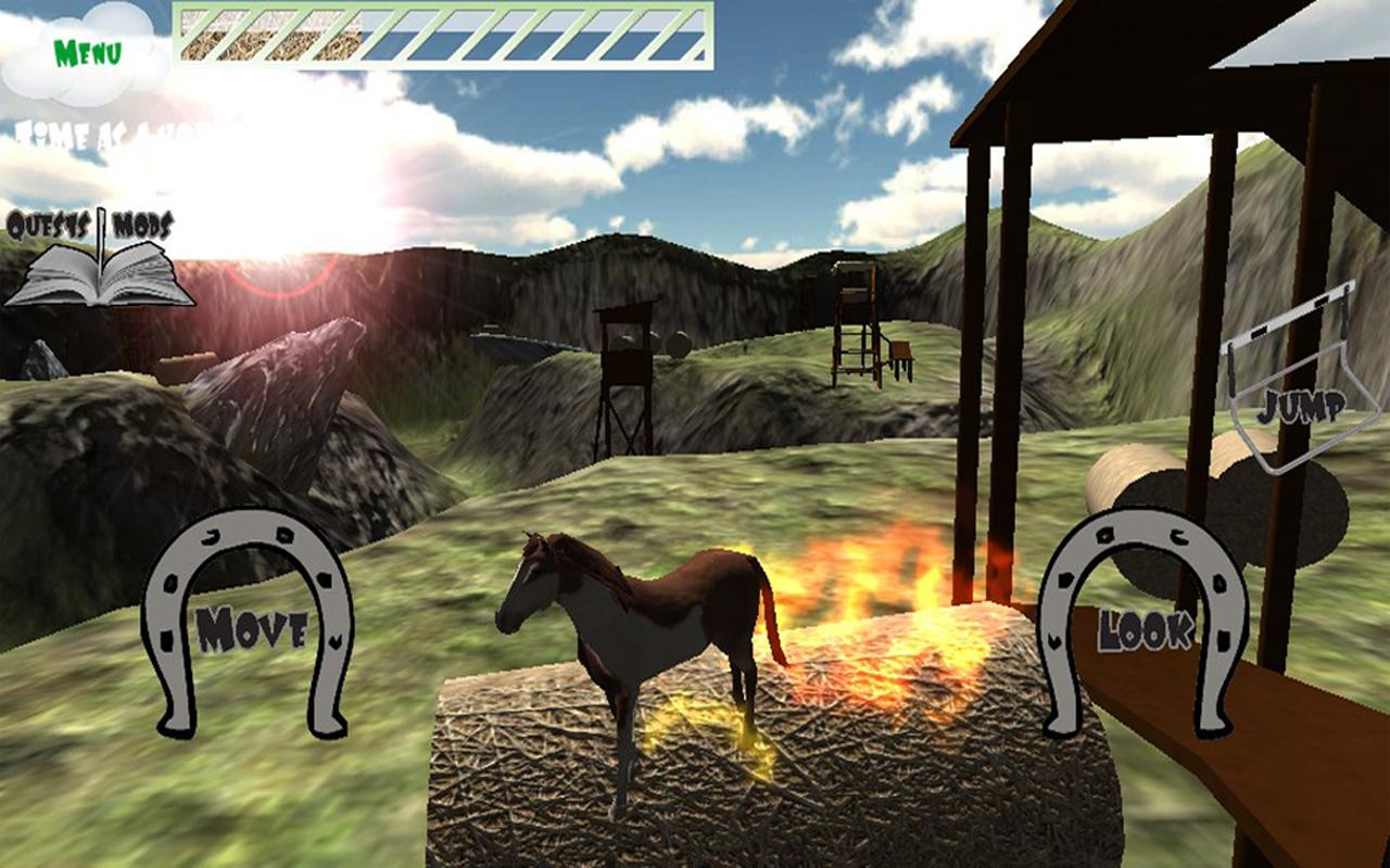 Hill Cliff Horse - screenshot