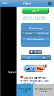 GMAT Pill HD - screenshot thumbnail