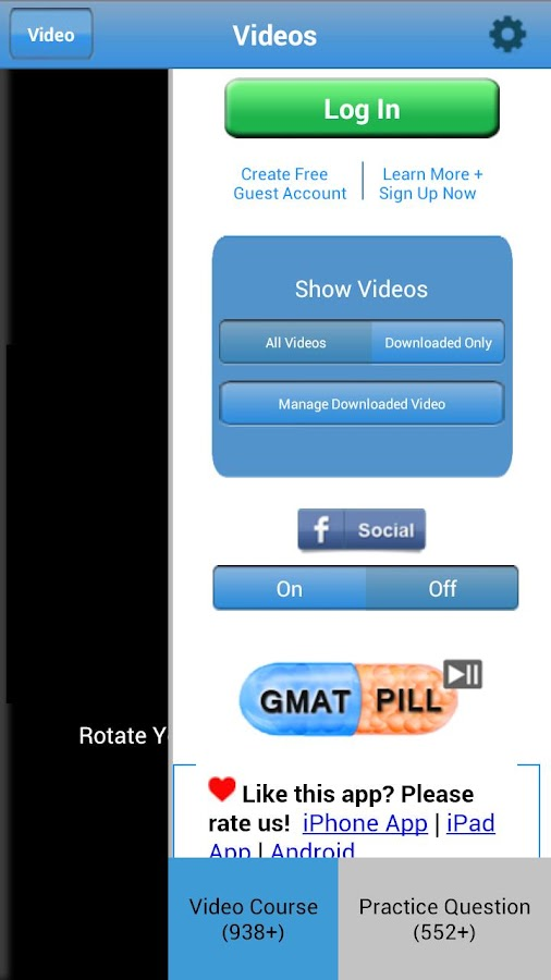 GMAT Pill HD - screenshot
