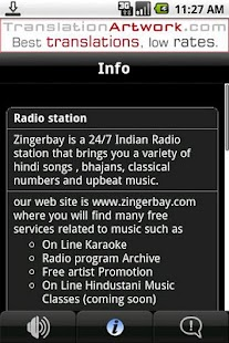 Zingerbay Radio- screenshot thumbnail