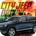 Real City Jeep Driving icon