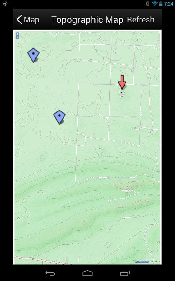 Land Nav Assistant - screenshot
