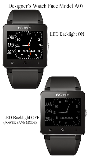 A07 WatchFace for SmartWatch2