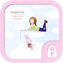 Simple life protector theme icon