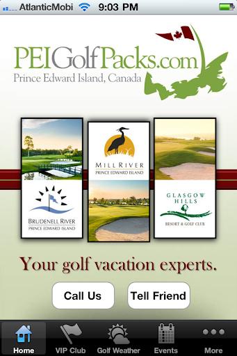 PEI Golf Packs