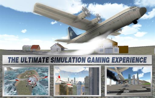 Flight Simulator Plane Parking