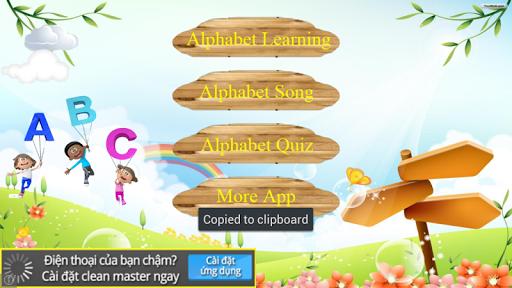 Alphabet rythm for kids