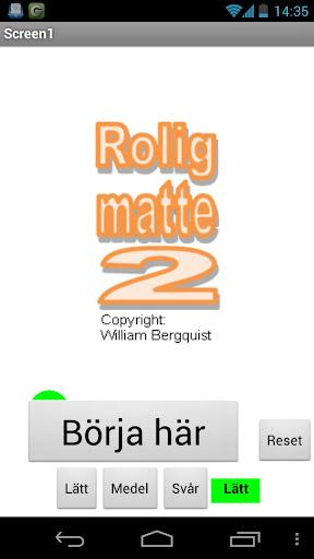 ROLIG MATTE