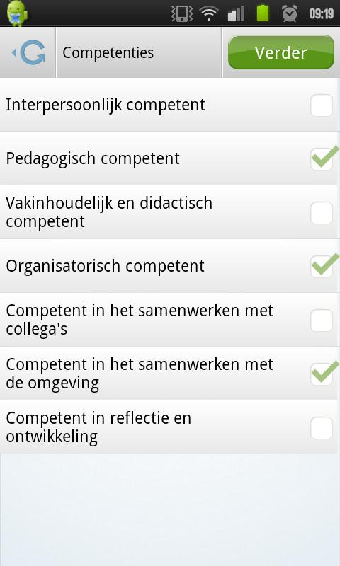 CODO 360 graden feedback - screenshot