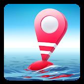 Dap Drift - карта глубин