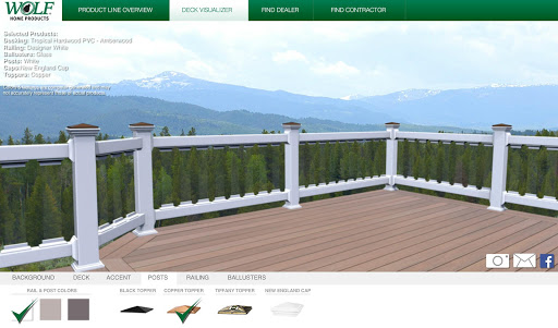 WOLF Deck and Rail Visualizer