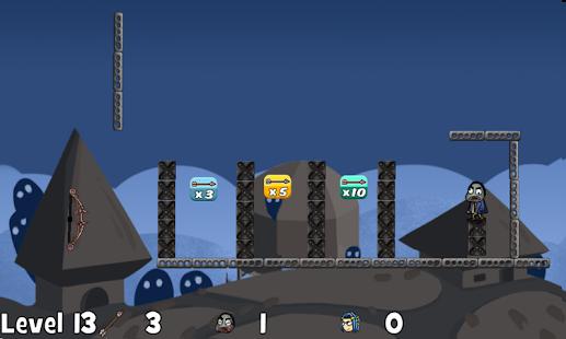 Zombies Castle VS Archery - náhled