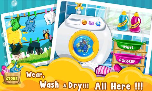 儿童衣物洗涤