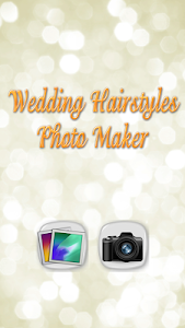 Wedding Hairstyles Photo Maker screenshot 1