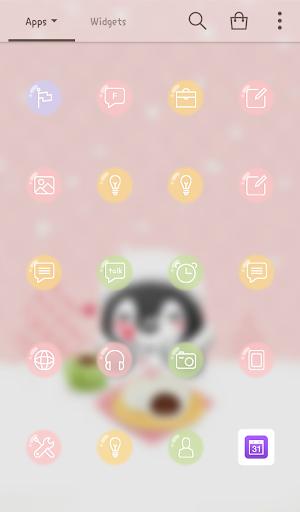 【免費個人化App】힙펭(따끈한호빵) 도돌런처 테마-APP點子