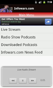 Alex Jones Multicast - screenshot thumbnail