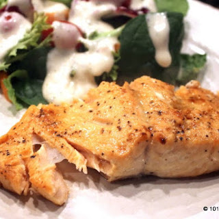 Oven Baked Butter Lemon Salmon