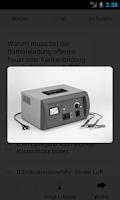 Screenshot of KFZ-Prüfungstrainer Teil 1