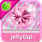 ♦ BLING Theme Pink Keyboard ♦