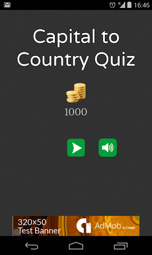 Capital City to Country Quiz