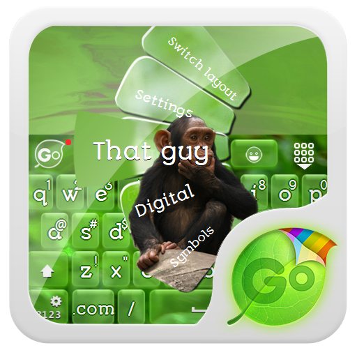那傢伙 GO Keyboard LOGO-APP點子