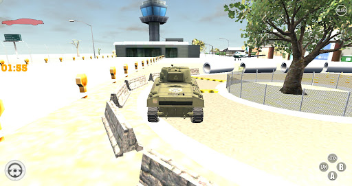 Army Military Tank Simulator