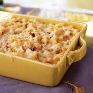 Spaetzle Baked with Ham and Gruyère.