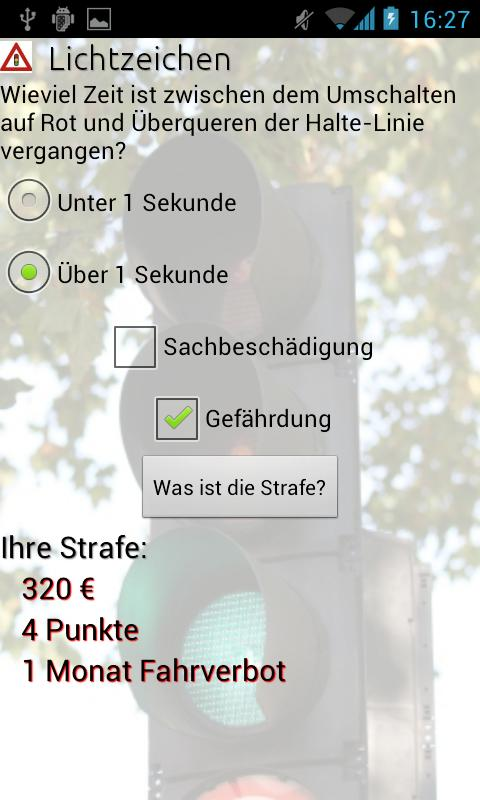 VerkehrsSünder- screenshot