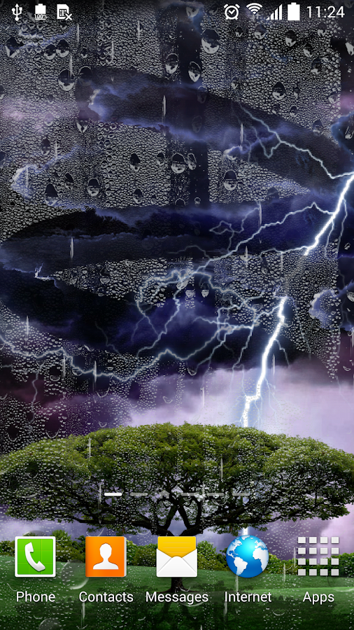 Thunderstorm Live Wallpaper - screenshot