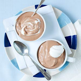 Chocolate Mousse.