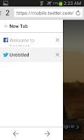 Screenshot of Shark Browser Free