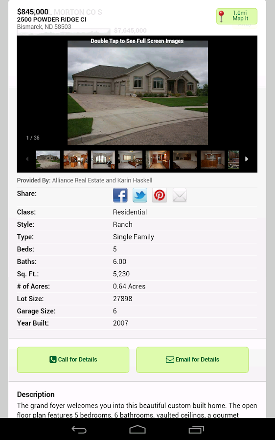 Real Estate Bismarck Mandan- screenshot