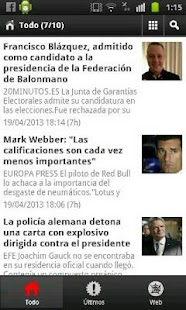 El Periodico TV - screenshot thumbnail