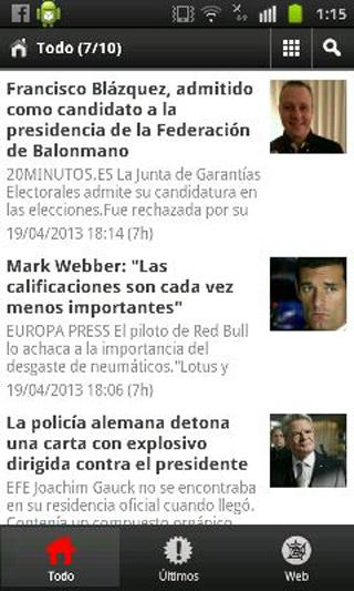 El Periodico TV - screenshot