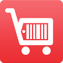 Coupons for grocery shopping icon
