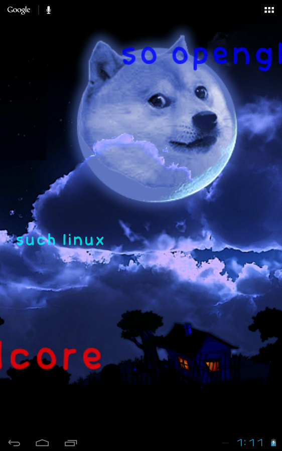 Doge Live Wallpaper FREE- screenshot