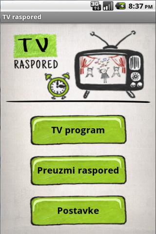 TV raspored Demo
