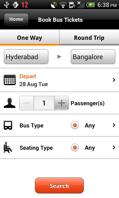 MyBusTickets.in- screenshot
