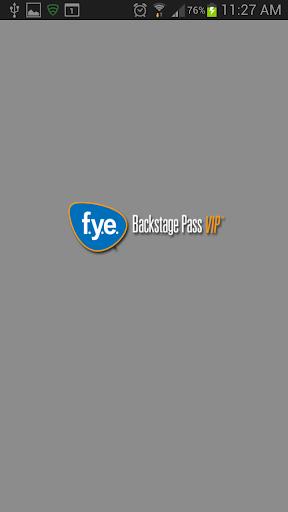 f.y.e. Backstage Pass VIP