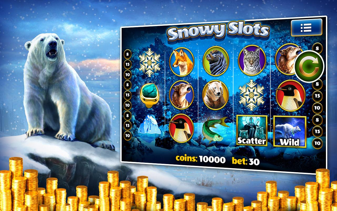 Snowys Wonderland Slots - Play it Now for Free