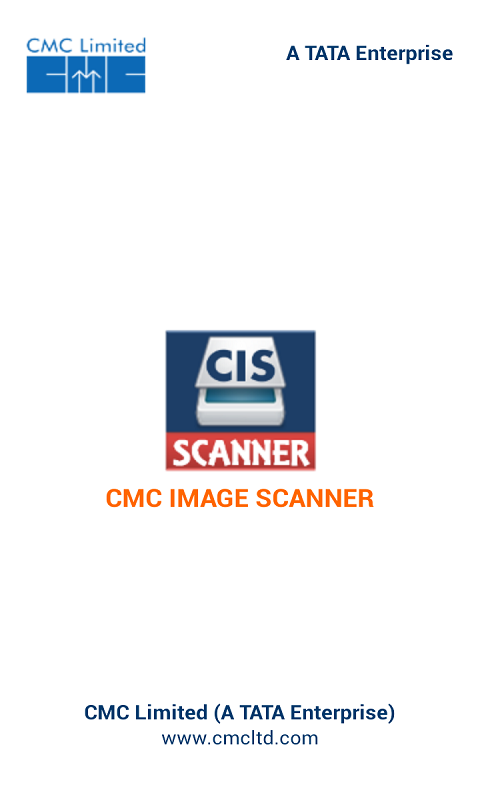 CMC Image Scanner- screenshot