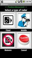 Screenshot of SpotRadars Lite, Speed Cameras