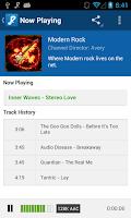Screenshot of RadioTunes