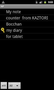 NP-Notepad- screenshot thumbnail