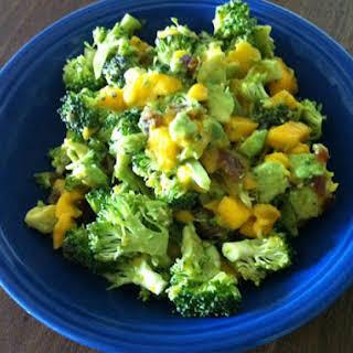 Mango, Avocado & Broccoli Salad.