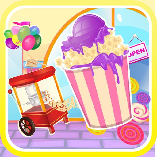 爆米花生產商 - 遊戲的女孩 休閒 App LOGO-硬是要APP