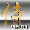 digital clock widget SAMURAI logo