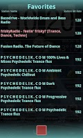 Screenshot of John's Web Radio